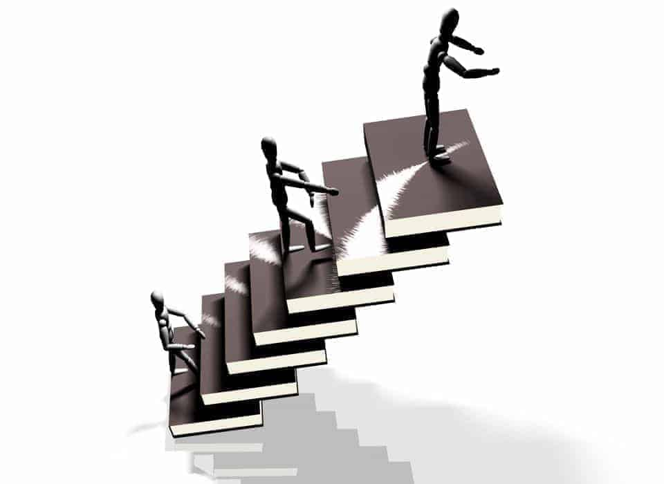 Climbing steps for Job Survival