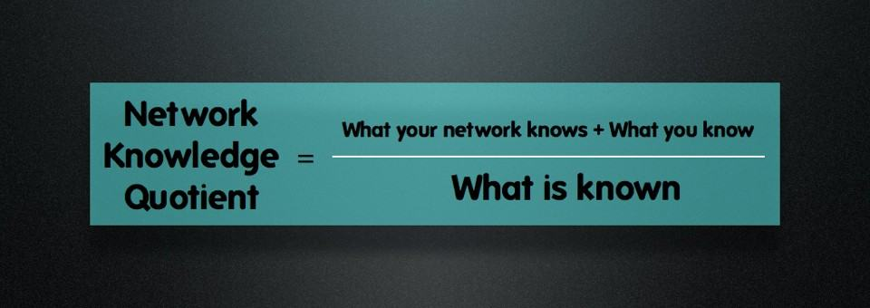 Network Knowledge Quotient Formula