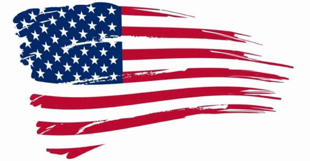 Tattered Flag depicting the turnaround USA needs