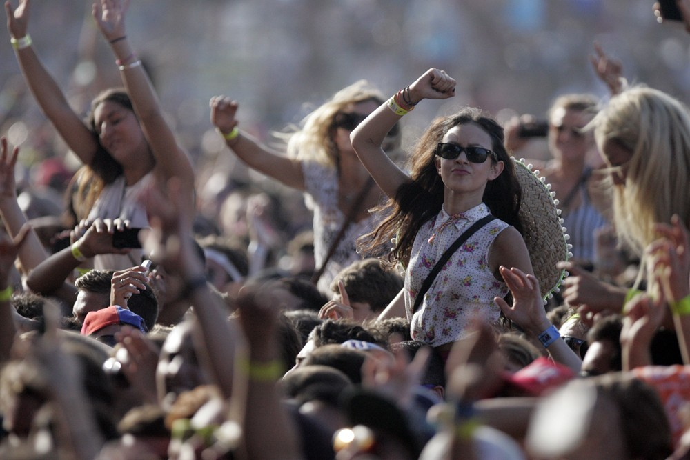 A Better Future being celebrated at a Music Festival