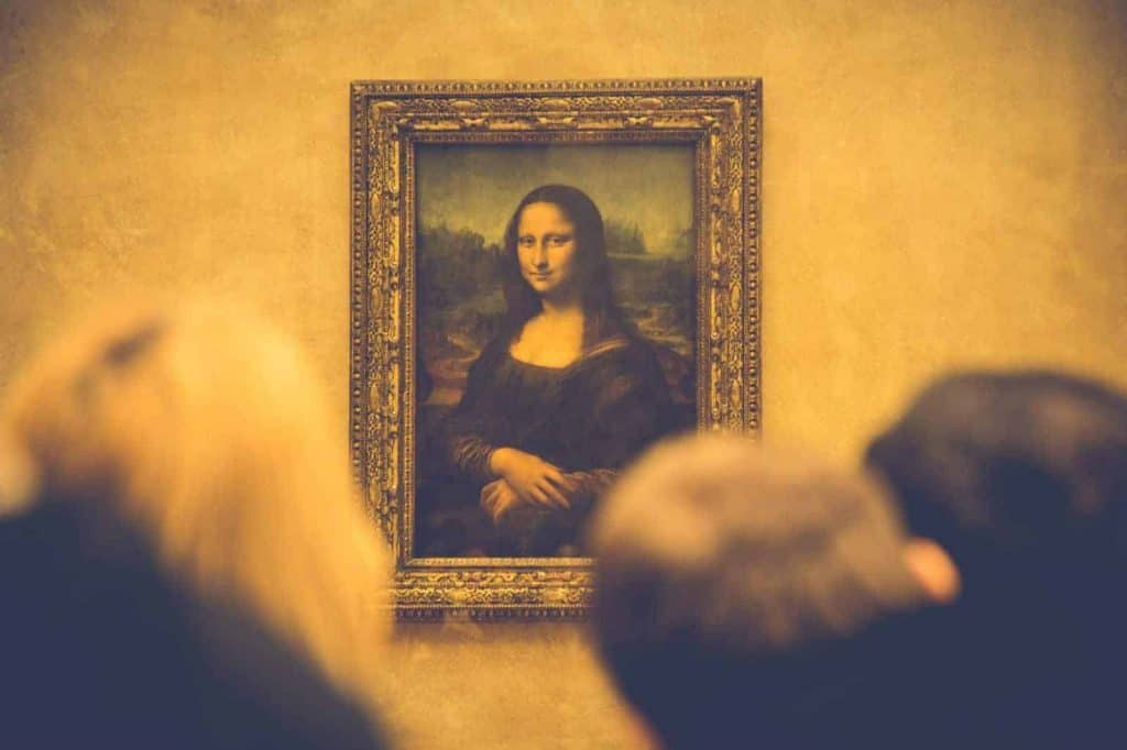 Photo by Eric TERRADE - Perspective on Mona Lisa